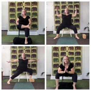 Chair Yoga+Meditation @ Online via Zoom